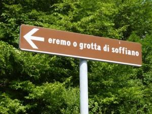 Eremo di Soffiano in the Sibillini Mountains, Le Marche, Italy