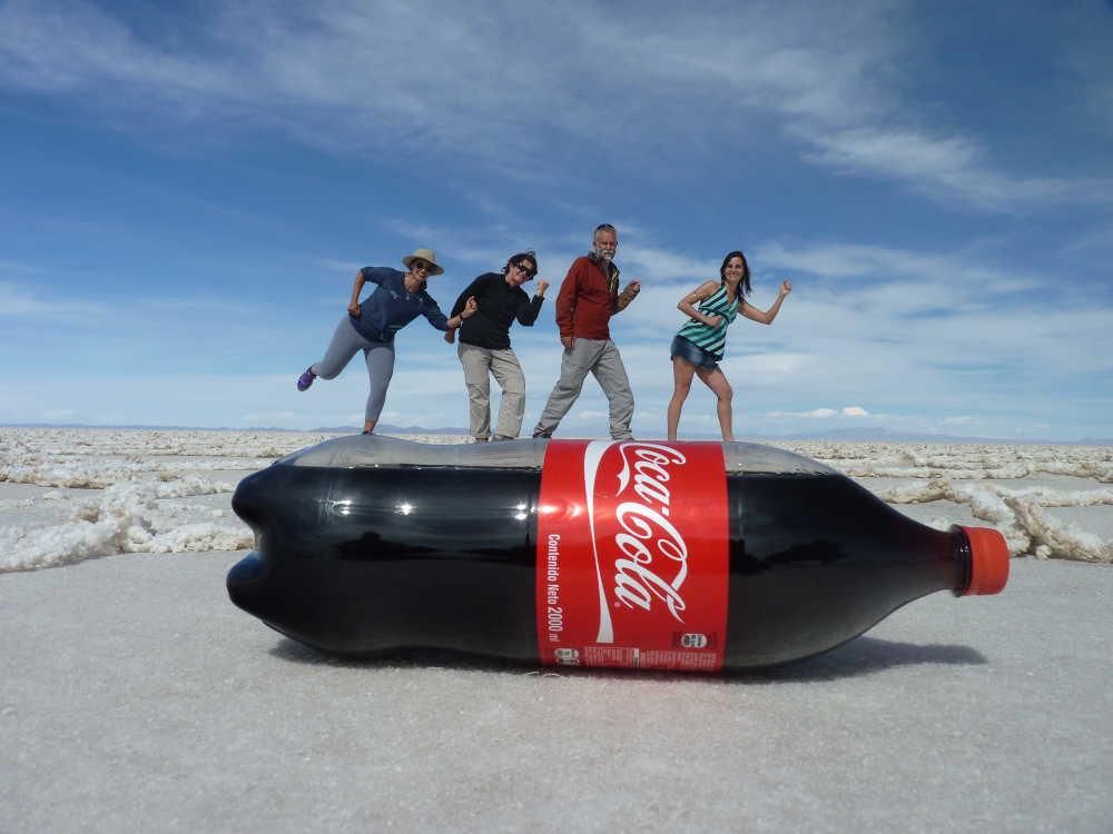 Four on a coke bottle!