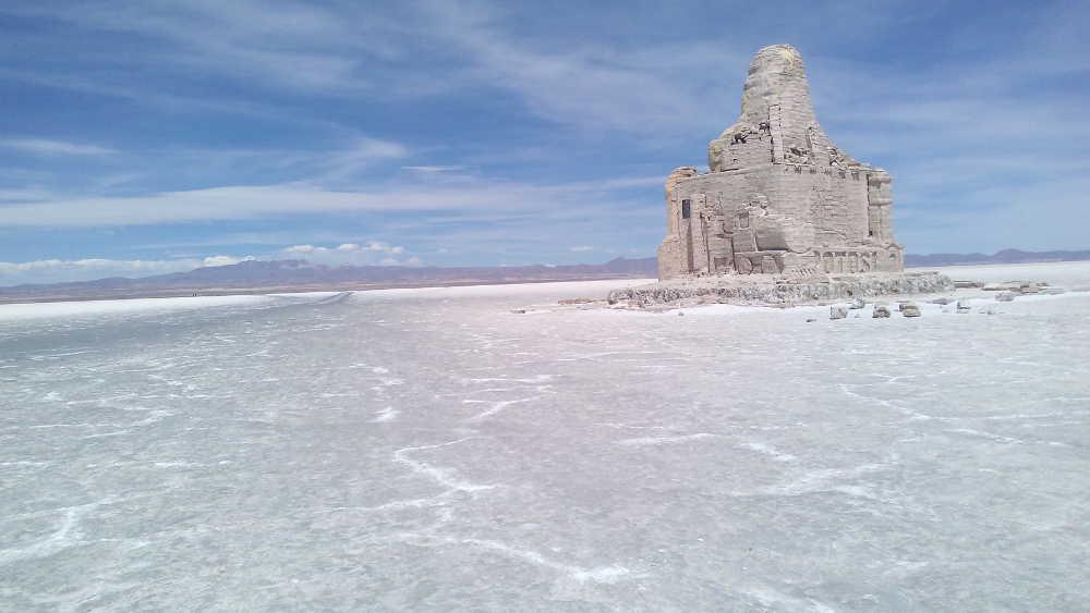 DDakar rally memorial in salt