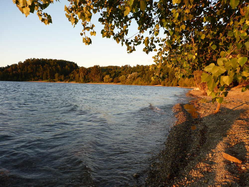 Lago Panguipulli from our campsite