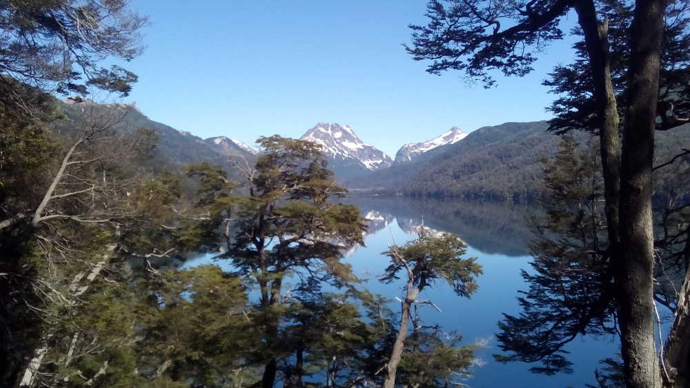 Leaving Lago Villarino, Argentina