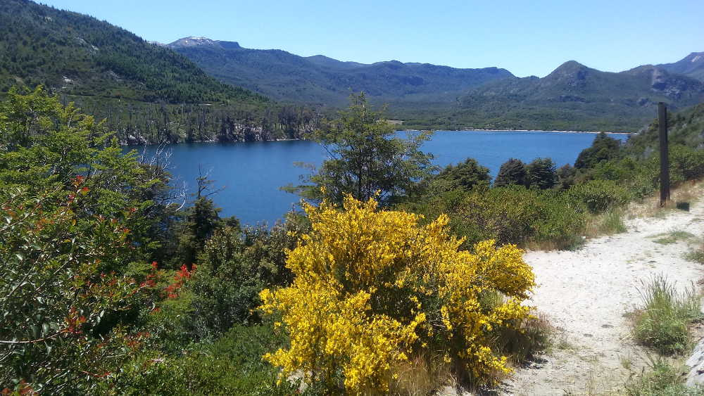 Leaving San Martin de los Andes in Argentina