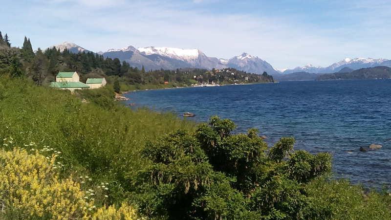 Lago Nahuel Huapi leaving Bariloche